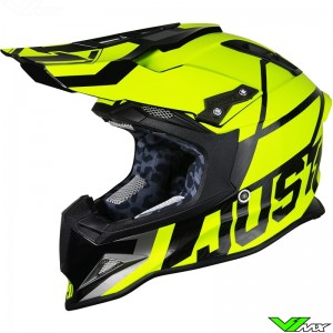 Just1 J12 Motocross Helmet Unit Fluo Yellow