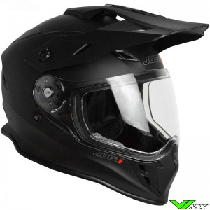 Just1 J34 Endurohelm Mat Zwart