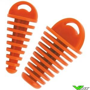 Uitlaatplug Crossmotor Oranje