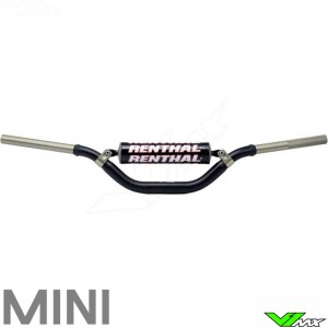 #605 Renthal 1 1//8 FatBar CR High Bend Black Fits: Beta 125 RR-S 2017