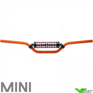 Renthal 7/8 Mini Dirtbike Handlebars Orange