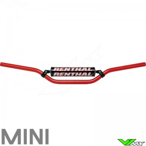 Renthal 7/8 Mini Handlebars Red
