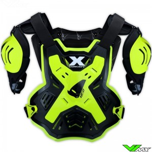 UFO X-Concept Body Armour Fluo Yellow