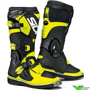 Sidi Flame Kids Motocross Boots Yellow