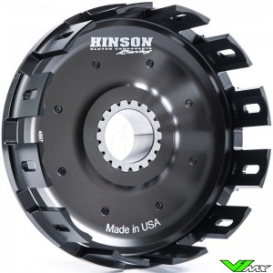 Hinson Aluminium Billetproof Clutch Basket - Honda CR250 CRF450R