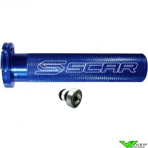 Scar Aluminium Throttle Tube + Bearing - Kawasaki Suzuki Yamaha