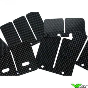 Tecnium Carbon Reed Petals - Suzuki RM125 Honda CR125 TM MX125 EN125