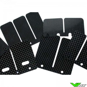 Tecnium Carbon Membraanplaatjes - Kawasaki KX500 Honda CR250 CR500 Husqvarna WR360