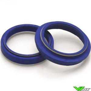 Tecnium Blue Label Fork Dust & Oil Seal Set - Honda CRF250R CRF450R CRF450RX Kawasaki KXF450 Suzuki RMZ450