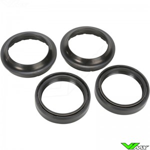 Tourmax Fork Dust & Oil Seal Set - Honda CR80 Kawasaki KX65 Suzuki RM65