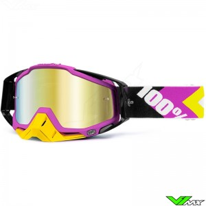 100% Racecraft Crossbril Hyperion 4 - Mirror Lens