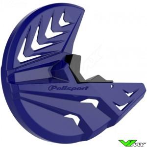 Polisport Remschijfbeschermer + Onderste Voorvorkbeschermer Blauw - Yamaha YZ125 YZ250 YZF250 YZF450
