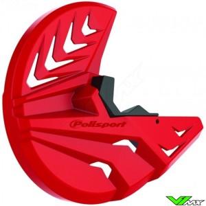 Polisport Brake Disc Protector + Bottom Fork Protector Red - Honda CRF450R