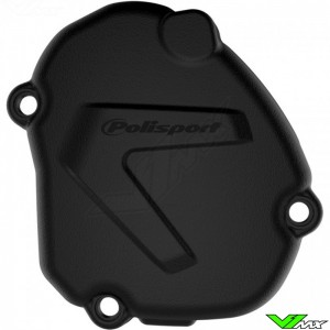 Polisport Ignition Cover Protector Black - Yamaha YZ125