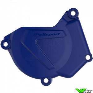 Polisport Ignition Cover Protector Blue - Yamaha YZ250