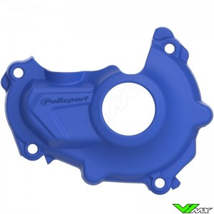 Polisport Ignition Cover Protector Blue - Yamaha YZF450