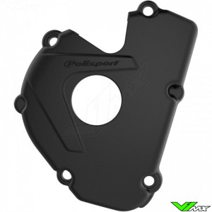 Polisport Ignition Cover Protector Black - Kawasaki KXF250