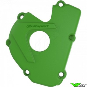 Polisport Ignition Cover Protector Green - Kawasaki KXF250