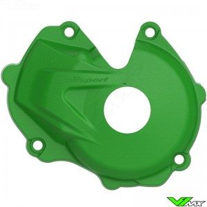 Polisport Ignition Cover Protector Green - Kawasaki KXF450