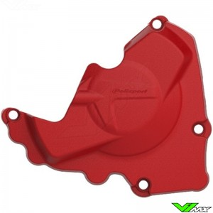 Polisport Ignition Cover Protector Red - Honda CRF250R