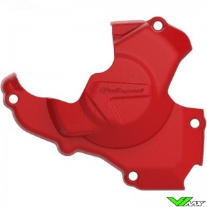 Polisport Ignition Cover Protector Red - Honda CRF450R