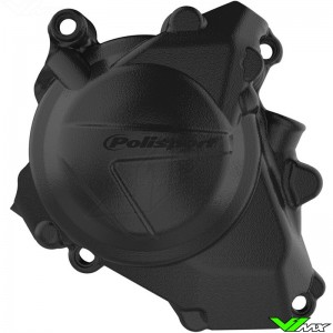 Polisport Ignition Cover Protector Black - Honda CRF450R CRF450RX