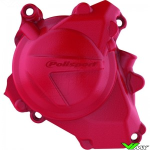 Polisport Ignition Cover Protector Red - Honda CRF450R CRF450RX