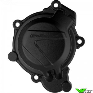 Polisport Ignition Cover Protector Black - KTM 125SX 150SX Husqvarna TC125 TE150 TX125