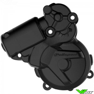 Polisport Ignition Cover Protector Black - KTM 250EXC 300EXC FreeRide250R Husqvarna TE250 TE300