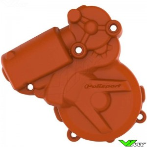 Polisport Ignition Cover Protector Orange - KTM 250EXC 300EXC FreeRide250R