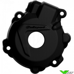 Polisport Ignition Cover Protector Black - KTM 250EXC-F 350EXC-F FreeRide350 Husqvarna FE250 FE350
