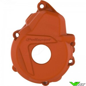 Polisport Ignition Cover Protector Orange - KTM 250EXC-F 350EXC-F