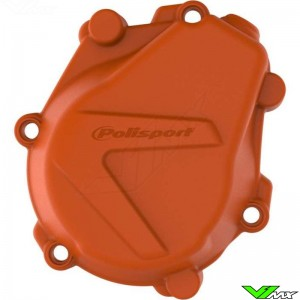 Polisport Ignition Cover Protector Orange - KTM 450SX-F 450EXC 500EXC