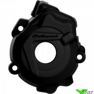 Polisport Ignition Cover Protector Black - KTM 250SX-F 350SX-F Husqvarna FC250 FC350