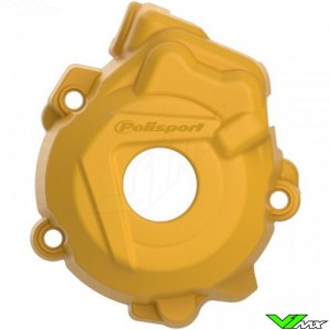 Polisport Ignition Cover Protector Husqvarna Yellow - Husqvarna FC250 FC350