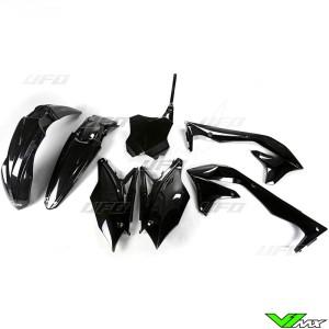 UFO Plastic Kit Black - Kawasaki KXF450