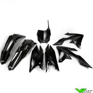UFO Plastic Kit Black - Suzuki RMZ250 RMZ450