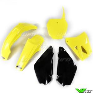 UFO Restyle Plastic Kit OEM 17 - Suzuki RM85