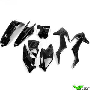 UFO Plastic Kit Black - KTM 125SX 150SX 250SX 250SX-F 350SX-F 450SX-F