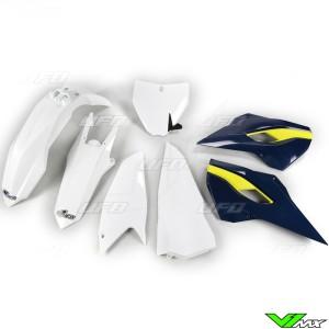 UFO Plastic Kit OEM - Husqvarna FC250 FC350 FC450 TC125 TC250