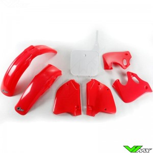 UFO Plastic Kit OEM - Honda CR125 CR250