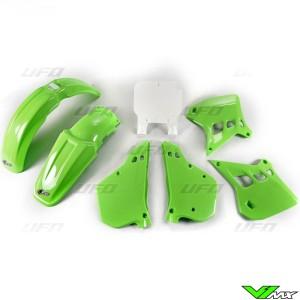 UFO Plastic Kit OEM - Kawasaki KX125