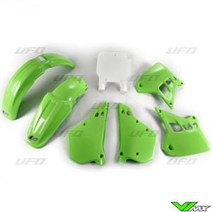 UFO Plastic Kit OEM - Kawasaki KX250