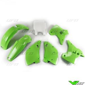 UFO Plastic Kit OEM - Kawasaki KX125 KX250