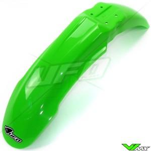 UFO Front Fender Green - Kawasaki KX125 KX250 KXF250 KXF450 KLX450