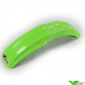 UFO Front Fender Green - Kawasaki KX80 KX85