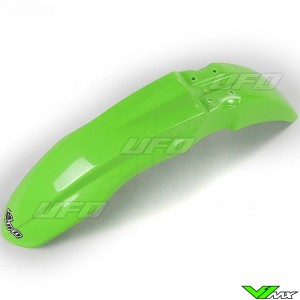 UFO Front Fender Green - Kawasaki KXF250 KXF450