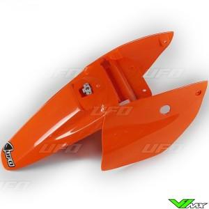 UFO Achterspatbord / Zijnummerplaten Oranje - KTM 65SX