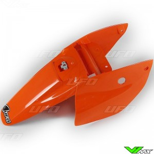 UFO Rear Fender / Side Number Plate Orange - KTM 65SX