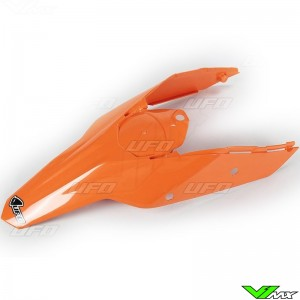 UFO Rear Fender / Side Number Plate Orange - KTM 125SX 144SX 150SX 250SX 520SX 525SX 250SX-F 450SX-F 505SX-F